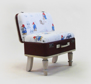The Paddington Bear suitcase gift by Katie Thompson