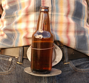 The BevBuckle beer belt buckle gift
