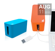 Blue Lounge's tidy CableBox Mini gift