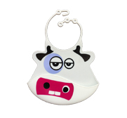 The bibibsli Chloe cow catch all bib gift