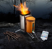 The gadget recharging CampStove gift by BioLite