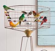 The bird cage lamp gift by Vintage Lights Ltd