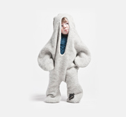 The baby seal body jumper gift by Vik Prjonsdottir