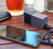 The Bolt portable battery backup and wall charger gift