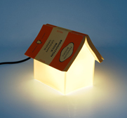 The book rest lamp gift by Lee Sang Gin