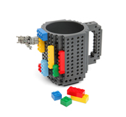 The build-on brick mug gift