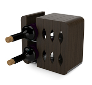 Mirage the expandable wine rack gift