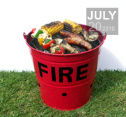 The Fire Bucket BBQ Gift