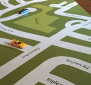 The I am Here play mat gift for kids