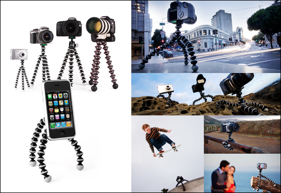 The flexible Gorillapod gift