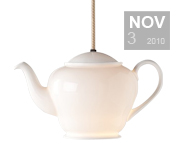 The teapot pendant light gift