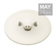 The pig cooking lid gift