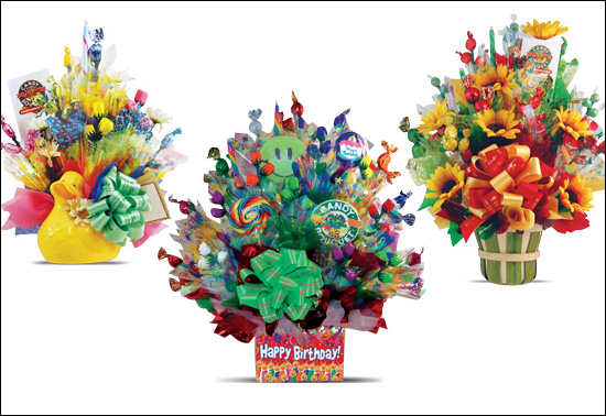 Send a gift full of Candy, the bouquet is sweet!