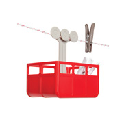 The cabina clothes peg holder gift by Avichai Tadmor
