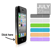 The Antennaid plaster gift for your iPhone4
