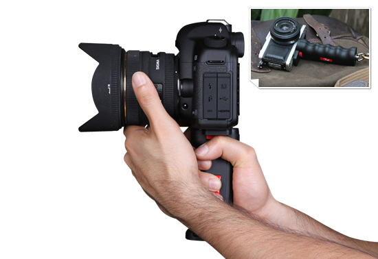 The pistol grip camera handle gift by Photography and Cinema