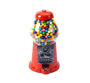The King Carousel gumball machine gift set