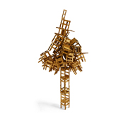 The chairs stacking puzzle gift