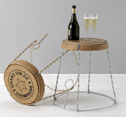 The champagne chair gift