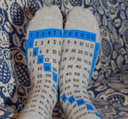 The multiplication Cheat Feet socks gift