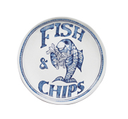 The traditional chippy plate gift