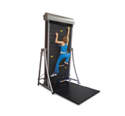 The climbing wall treadmill gift