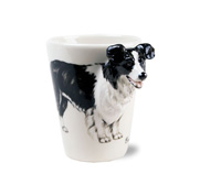 The border collie mug gift by Blue Witch