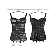 The little black corset jewellery storage gift