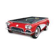 The Corvette billiards pool table gift