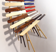 The Rest for the Brits cricket stool gift by Pierre Ospina