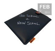 The Chalkboard iPad case gift by Brokesy