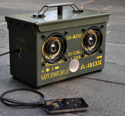 Thodio's abox Ammo-Box iPod speaker gift