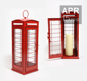 The British red telephone box lantern gift