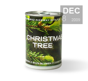The gift of a Christmas Tree in a Can