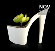 The stiletto heel succulent planter gift