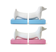 Junior dachshund bookend gifts by Jonathan Adler
