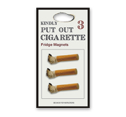 The cigarette fridge magnet gift by Scott Amron