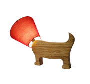 Matt Pugh's dog lamp gift