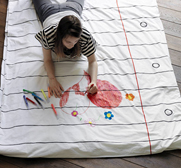 The doodle duvet cover gift