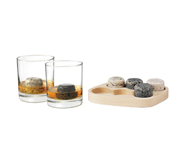 The on the rocks set of drink chiller stone gifts