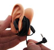 The ear shaped headphone cable tidy gift