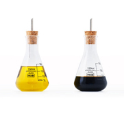 The Earl oil and vinegar lab-ware gift