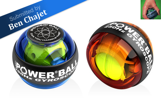 The NSD PowerBall Gyroscope workout gift