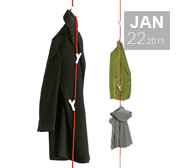 The Wardrope coat rack gift by Veronika