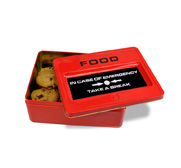 The take a break emergency food tin gift