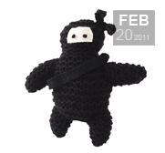 The Knit your own Ninja gift