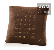 The sofa pillow remote control gift