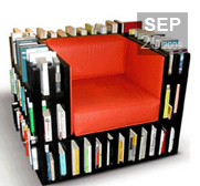 Read in style with the BiblioChaise gift