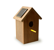 The solar birdhouse gift by Oooms