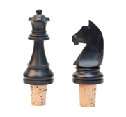 The chess bottle stopper gift by David Weeks